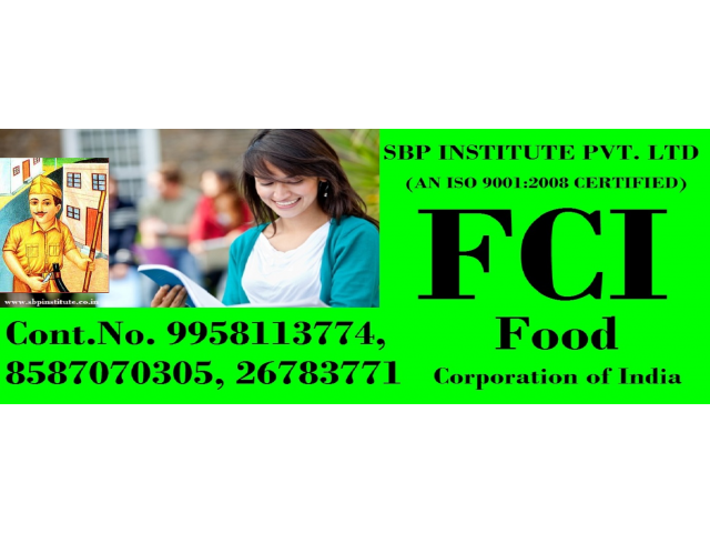 delhi's best (fci) Coaching  2019 Call Now -8587070305