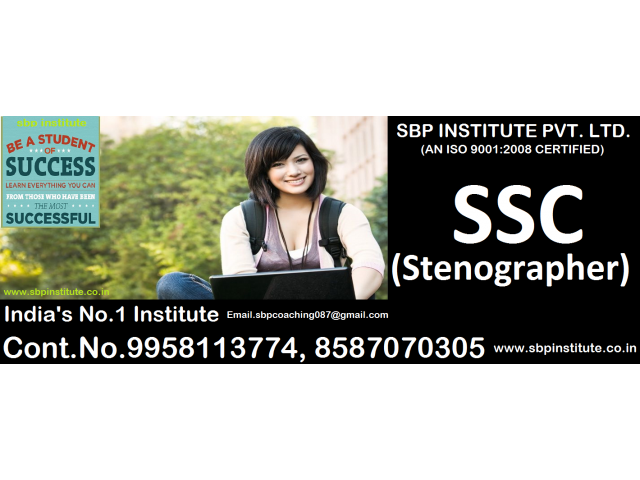 SSC / StenogrApher Coaching in Delhi,