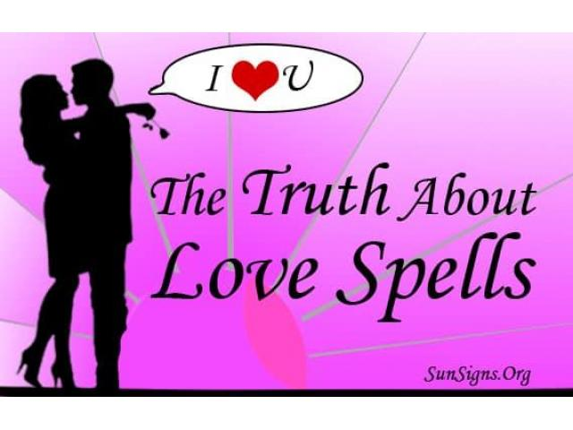 LOST LOVE SPELLS CASTER +27731295401 VOODOO /BRING BACK LOST LOVER