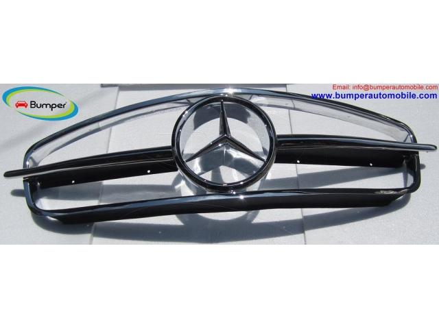 Mercedes W190SL Grill (1955 1963) by stainless steel