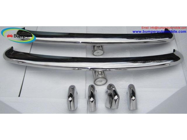 VW Type 3 bumper (1963–1969) by stainless steel