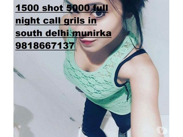 Call Girls In Malviya Nagar 2000 shot 6000 night 9818667137 ..