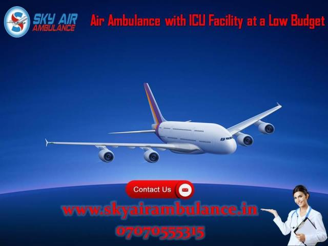 Get India's Best ICU Air Ambulance Service in Ranchi