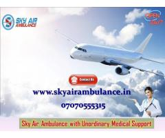 Choose Perfect and Safe Patient Shifting from Raipur by Sky Air Ambulance