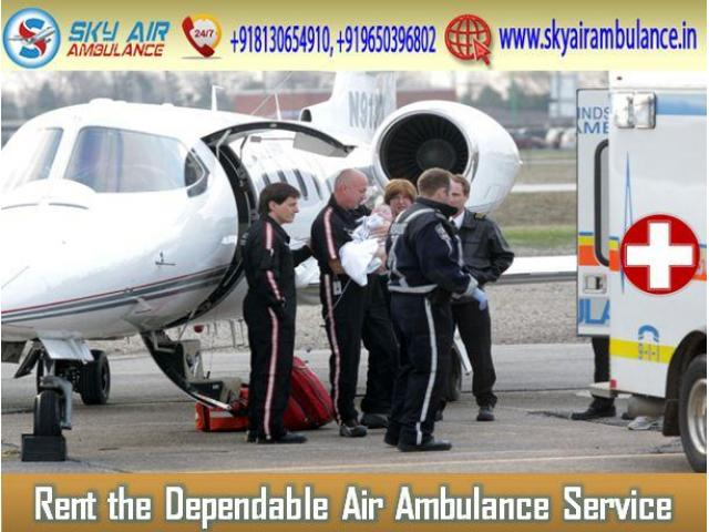 Pick Charter Air Ambulance at Cheapest Cost from Gaya