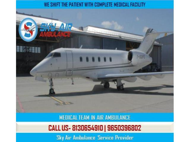 Choose the Modern and Authentic Air Ambulance in Patna