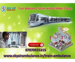 Take Train Ambulance in Indore at reasonable Rate
