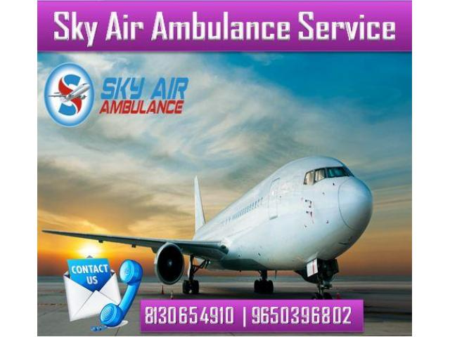Select the Excellent Air Ambulance in Kolkata with Life-Sustaining Medical Facility