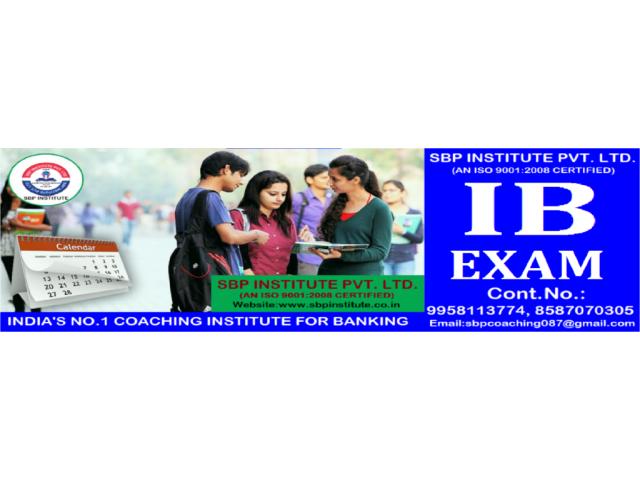 I.B. Exam Coaching in Mahipalpur, Delhi, Sbp Institute.