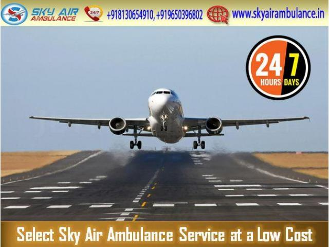 Utilize Air Ambulance from Raipur with Life-Sustaining Medical Services