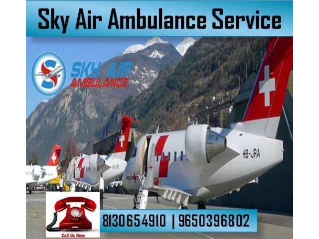 Select Air Ambulance in Bhopal with Modern Medical System