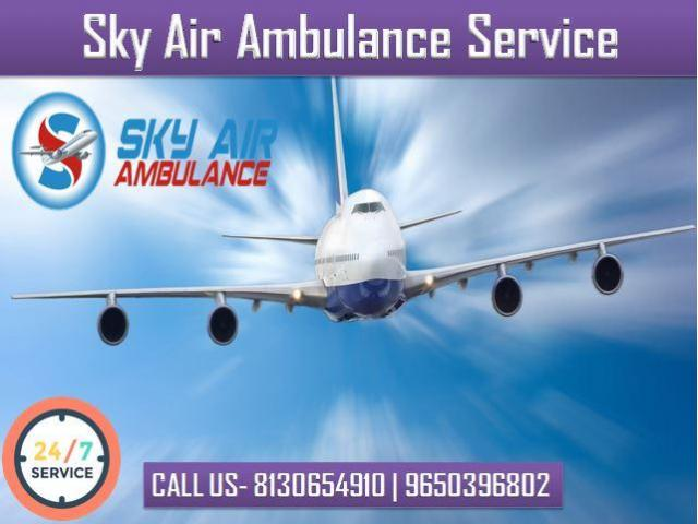 Take Air Ambulance from Allahabad with Full Medical Facility