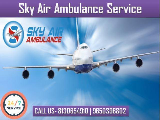 Take Air Ambulance from Allahabad with Full Medical Facility