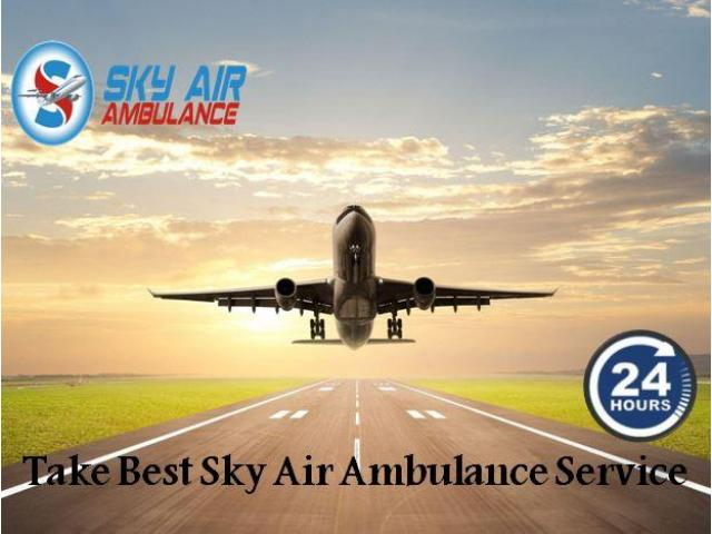 Get Emergency Medical Facility by Air Ambulance in Jamshedpur