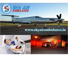 Choose Sky Air Ambulance from Mumbai with Full Emergency Care