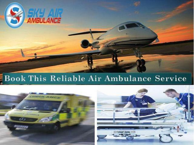 Pick Air Ambulance from Ahmedabad with Professional MD Doctor