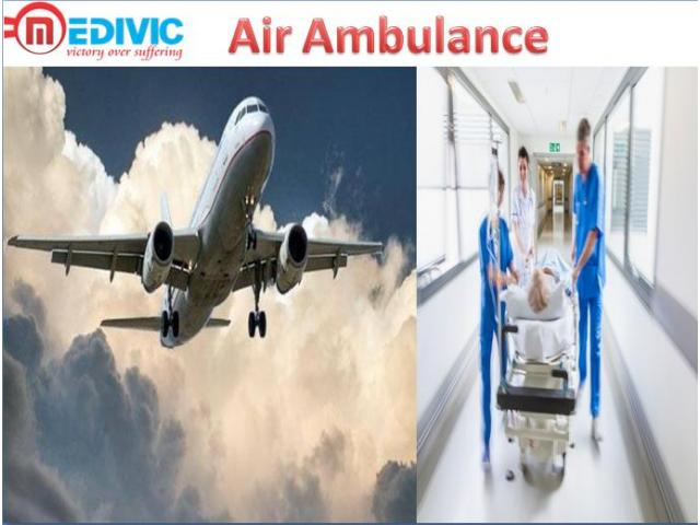 Best Air Ambulance from Indore by Medivic Aviation
