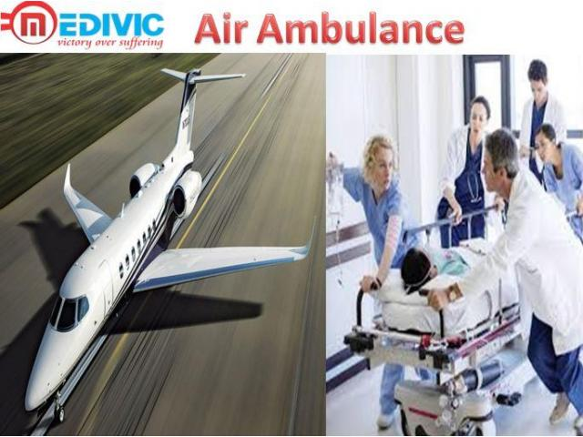 Get Air Ambulance from Bangalore by Medivic with ICU Facility