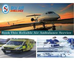 Pick Sky Air Ambulance from Patna in a Medical Emergency Situation