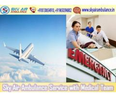 Select Air Ambulance from Kolkata with Magnificent Medical Services