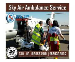 Use Sky Air Ambulance from Guwahati with Full Medical Conveniences