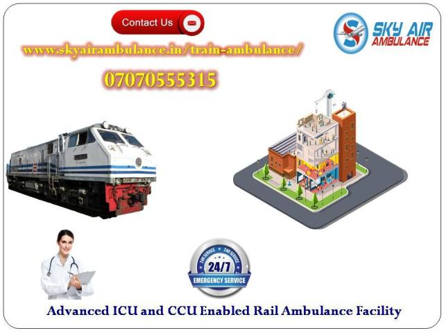 Utilize Train Ambulance in Bokaro with Hi-tech Medical Tools