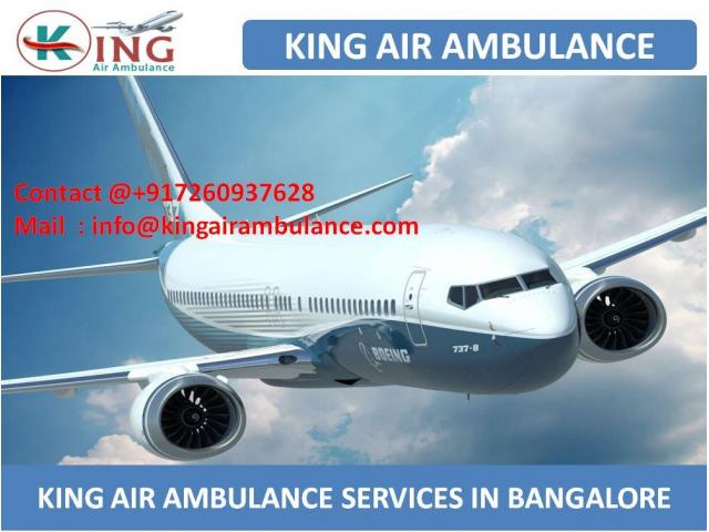 King Train Ambulance Services in Bangalore with Top Class Medical Facility