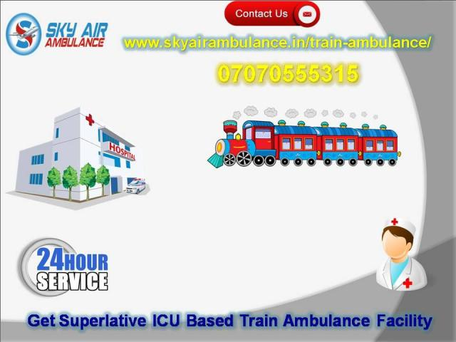 Choose Train Ambulance in Patna with Emergency Service