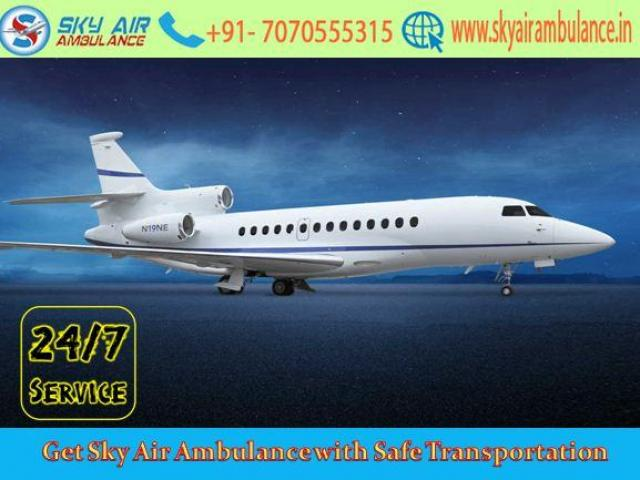 Obtain Air Ambulance from Bangalore to Delhi with Certified Medical Staff