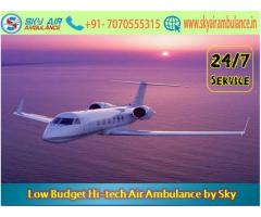 Pick Fast and Safe Evacuation in Raipur by Sky Air Ambulance