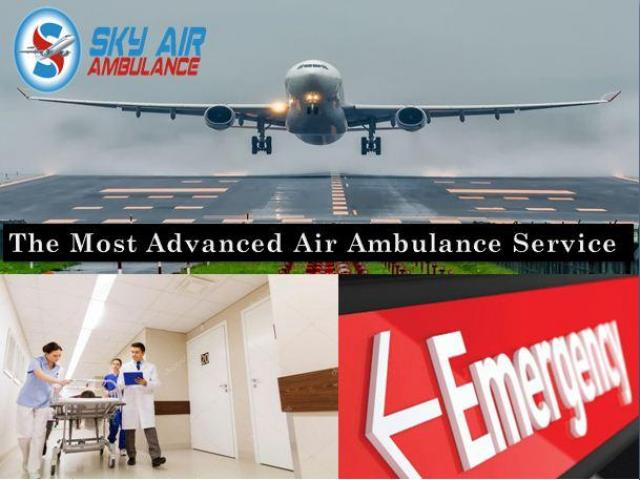 World-Class Air Ambulance in Bhubaneswar with Effective Medical Services