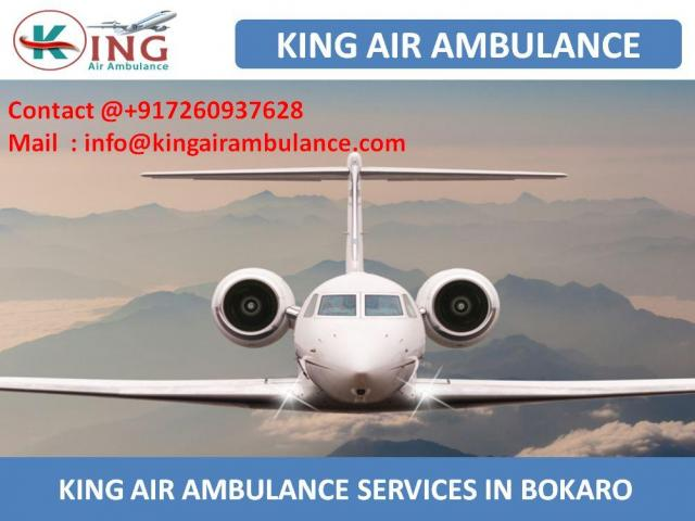 Best and Low Fare Air Ambulance Services in Bokaro by king