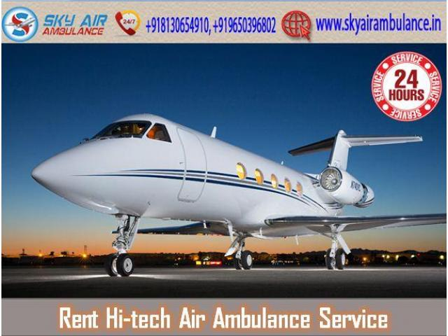 Use Air Ambulance from Siliguri with Modern Medical Features
