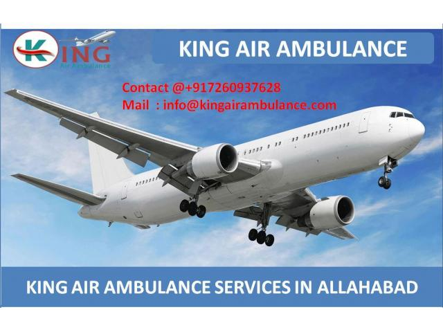 Get Best and Fast Air Ambulance Service in Allahabad by King