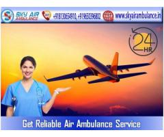 Book Air Ambulance in Patna with Perfect Medical System