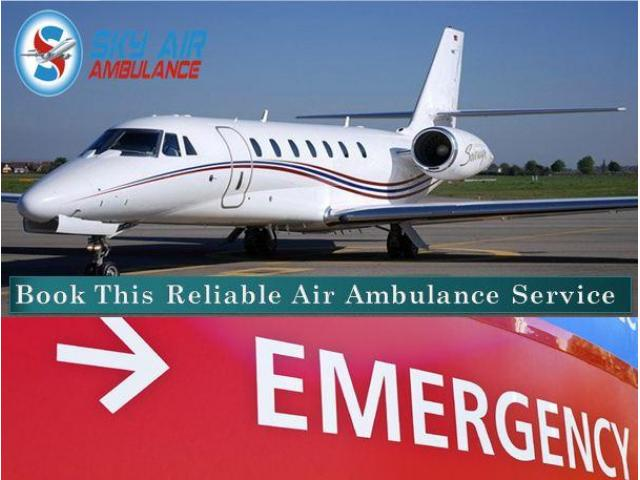 Get First-Class Medical Facility by Air Ambulance from Baramati