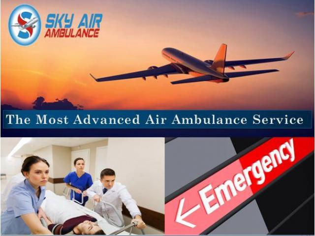 Take Air Ambulance from Goa with Superb Medical Staffs