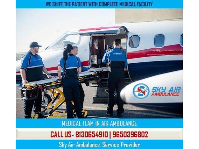 Take Immediate Transfer Service by Air Ambulance from Pondicherry