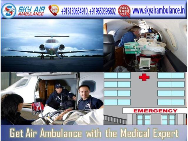 Book Air Ambulance from Ranchi with Excellent Medical Features