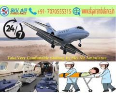 Hire Sky Air Ambulance in Hyderabad without any hidden Cost