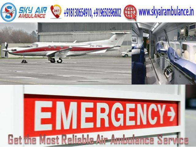 Rent Air Ambulance Service in Raipur with Ultra-Modern Medical System