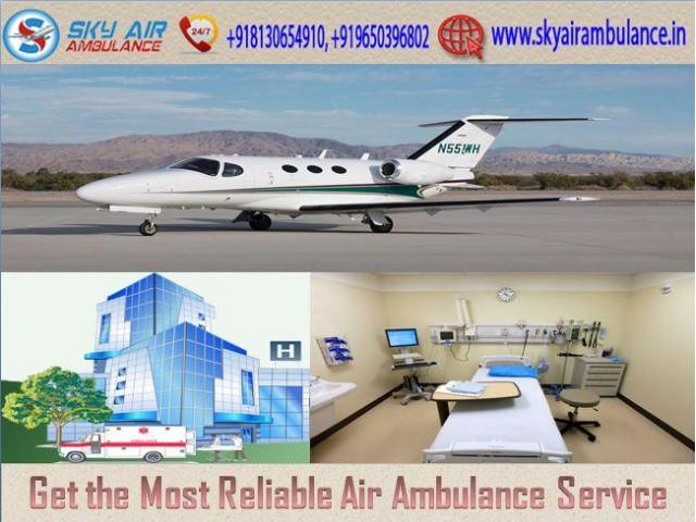 Select Sky Air Ambulance from Bhopal with Life-Saving Medical Machinery