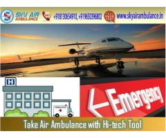 Sky Air Ambulance in Chennai with Complete Support