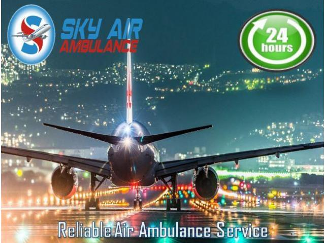 Avail Air Ambulance Service from Coimbatore with Hi-Tech ICU Setups