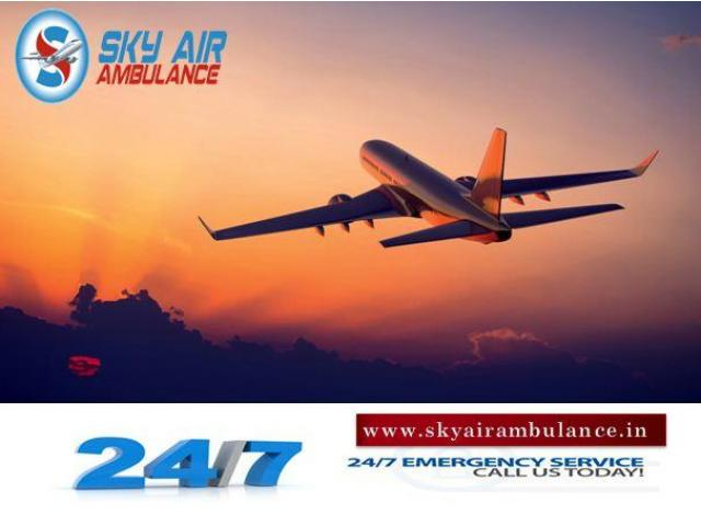 Take Benefit of Sky Air Ambulance from Raipur at a Reduced Charge