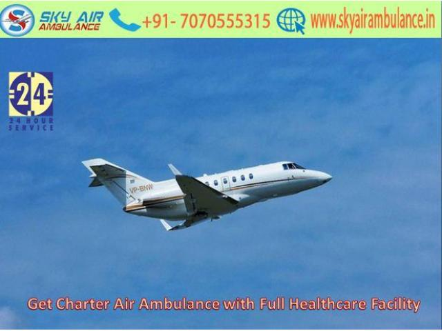 Utilize Matchless ICU Setup Air Ambulance from Kolkata to Delhi