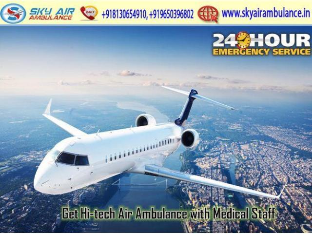 Utilize Charter Air Ambulance in Guwahati with Life Saving Tools