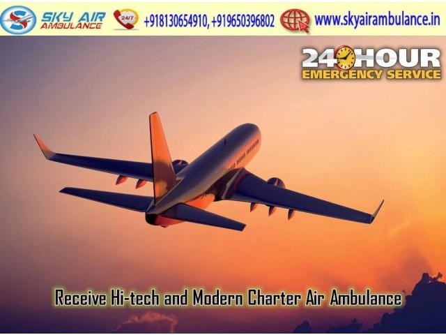 Obtain Safe and Reliable Patient Shifting from Chennai by Sky Air Ambulance