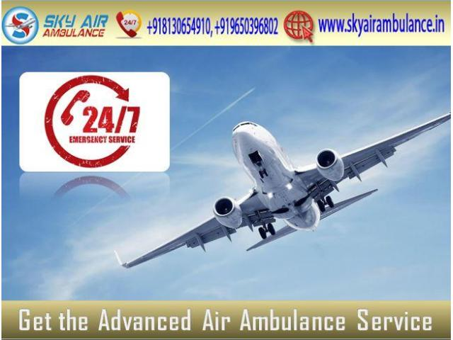 Choose Air Ambulance in Patna with full Medical Solution