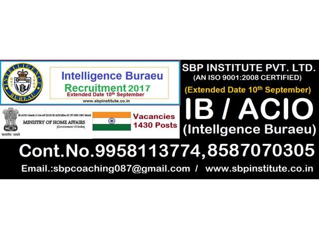 [INTELIGENCE BUREAU (I.B) No.1 Coaching in Shankar Vihar Mahipalpur ,].-..,